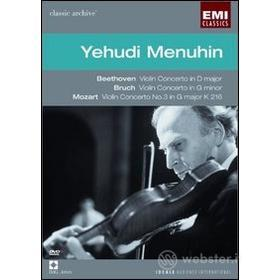 Yehudi Menuhin. Franck, Schubert, Bartok. Classic Archive
