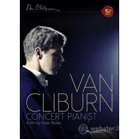 Van Cliburn. Concert Pianist