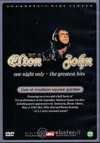 John Elton. One night only.