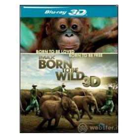 IMAX. Born to Be Wild 3D (Blu-ray)