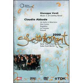 Silvesterkonzert 2000. Giuseppe Verdi