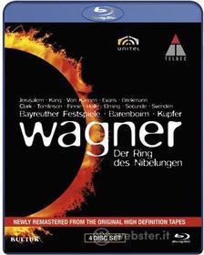Richard Wagner - Der Ring Des Nibelungen (4 Blu-Ray) (Blu-ray)
