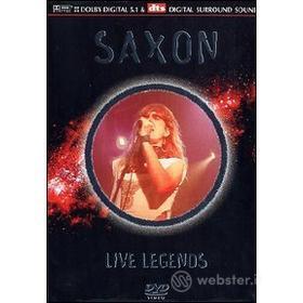 Saxon. Live Legends