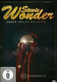 Stevie Wonder. Signed, Saled, Delivered