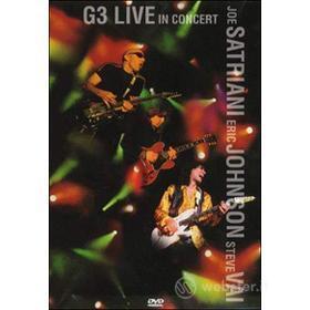 G3 Live in Concert. Joe Satriani, Eric Johnson, Steve Vai