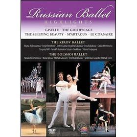 Russian Ballet Highlights. The Kirov Ballet, The Bolshoi Ballet