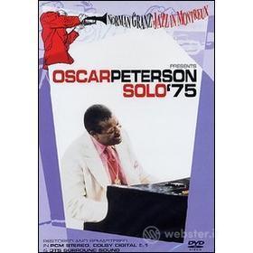 Oscar Peterson. Solo '75. Norman Granz Jazz At Montreux