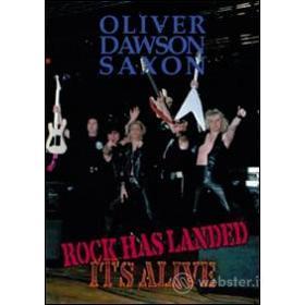 Saxon. Rock Has Landed It's Live
