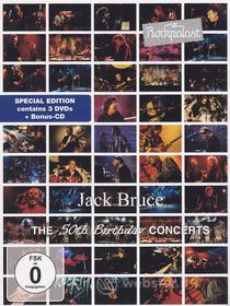 Jack Bruce  - The 50th Birthday Concerts (3 Dvd)