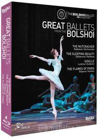 Great Ballets From Bolshoi (4 Blu-Ray) (Blu-ray)