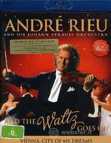 André Rieu and His Johann Strauss Orchestra. And The Waltx Goes On (Blu-ray)