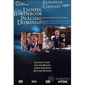 European Concert 1992 - Daniel Berenboim, Placido Domingo