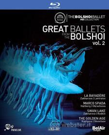 Great Ballets from the Bolshoi, Vol. 2: La Bayadere, Marco Spada, Swan Lake, The Golden Age (4 Blu-Ray) (Blu-ray)