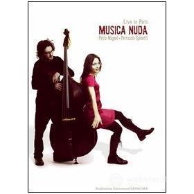 Petra Magoni e Ferruccio Spinetti. Musica Nuda. Live in Paris