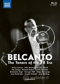 Belcanto - The Tenors Of The 78 Era (5 Blu-Ray) (Blu-ray)