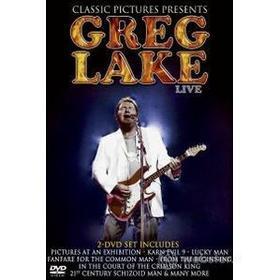 Greg Lake. Live In Concert (2 Dvd)