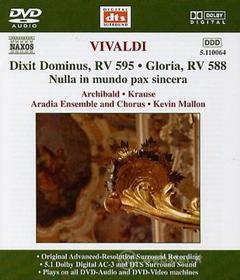 Antonio Vivaldi - Dixit Dominus Rv 595, Nulla In Mundo Pax Sincera Rv 630, Gloria Rv 588