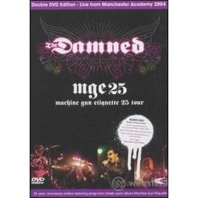 Damned. mge25. Machine Gun Etiquette 25° Tour (2 Dvd)