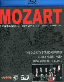 Wolfgang Amadeus Mozart / Old City String Quartet / Klein / Chen - Clarinet Horn String Quartets (Blu-ray)