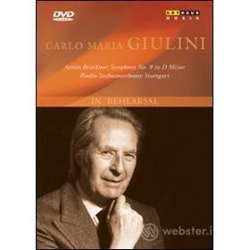Carlo Maria Giulini. In Rehearsal