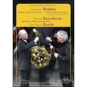 Johannes Brahms. Concerto per pianoforte n.1. Quartetto con pianoforte n.1