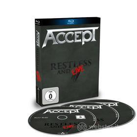 Accept - Restless & Live (3 Blu-Ray) (Blu-ray)