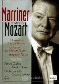Neville Marriner. Marriner conducts Mozart
