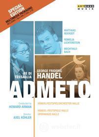 Georg Friedrich Handel - Admeto, Re Di Tessaglia Hwv22 - Arman Howard Dir (5 Dvd)