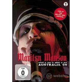 Marilyn Manson. What U See Is What U Get. Australia 99