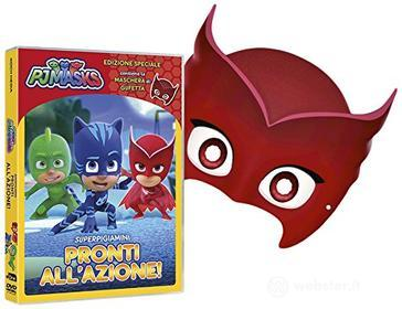 Pj Masks - Super Pigiamini Pronti All'Azione! (Gufetta Edition) (Dvd+Maschera)