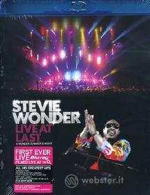 Stevie Wonder. Live at Last (Blu-ray)