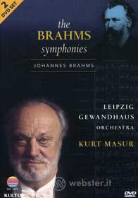 Johannes Brahms - Symphonies (2 Dvd)