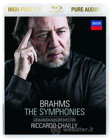 Brahms - The Symphonies - Riccardo Chailly (Blu-ray)