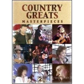 Country Greats. Masterpieces (2 Dvd)