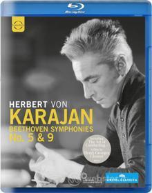 Ludwig van Beethoven. Symphonies nos. 5 & 9 (Blu-ray)