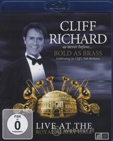 Cliff Richard - Bold As Brass. Live At The Royal Albert Hall (Blu-ray)