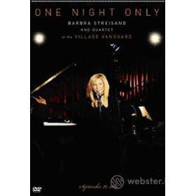 Barbra Streisand. One Night Only