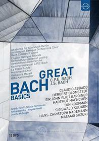 Johann Sebastian Bach - Great Basics Box (12 Dvd)