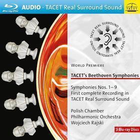Ludwig Van Beethoven - Tacet's Symphonies (3 Blu-Ray Audio) (Blu-ray)