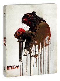 Hellboy (Ltd Steelbook) (Blu-Ray 4K+Blu-Ray+10 Card Da Collezione) (2 Blu-ray)