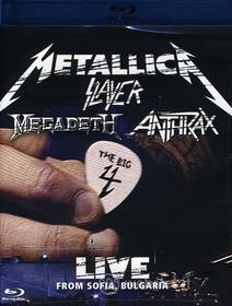 Metallica / Slayer / Megadeth / Anthrax - Big 4: Live From Sofia Bulgaria (2 Blu-ray)
