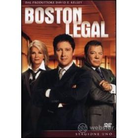 Boston Legal. Stagione 1 (6 Dvd)