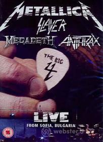 Metallica, Slayer, Anthrax, Megadeth. Big 4. Live From Sofia, Bulgaria (2 Dvd)