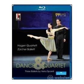 Dance & Quartet. Three Ballets by Heinz Spoerli (Blu-ray)