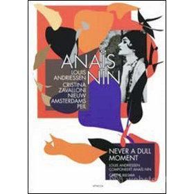 Louis Andriessen. Anais Nin