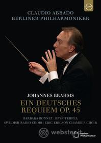 Claudio Brahms / Abbado - Brahms: Ein Deutsches Requiem (Blu-ray)