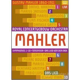 Gustav Mahler. Le 10 sinfonie. Da Lied von der Erde (11 Dvd)