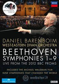 Ludwig van Beethoven. Symphonies 1-9. Live from the 2012 BBC Proms (4 Dvd)