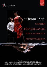 Antonio Gades - Spanish Dance (3 Dvd)