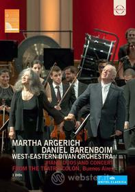 Martha Argerich. Daniel Barenboim. West Eastern Divan Orchestra (2 Dvd)